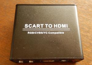 SCART-HDMI変換アダプタ